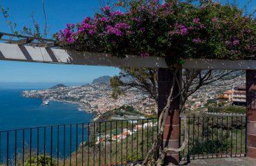 Miradouro do Pináculo - vista sobre o Funchal