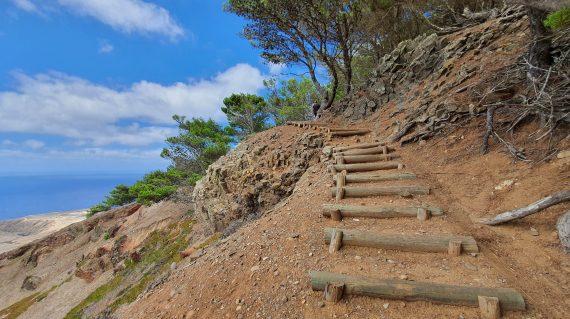 Pico do Castelo Walk, Porto Santo Madeira, Portugal, where is porto santo island, Porto Santo island near madeira